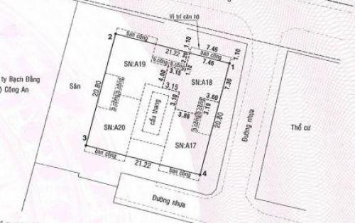 Bán căn hộ chung cư Bộ Công An (chung cư cũ)