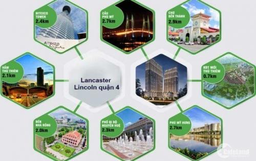 Căn hộ Lancaster Lincoln ưu đãi chiết khấu 7% và tặng 290 triệu, 2 năm phí quản lý