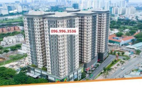 Dự án hình thành, đã có sổ hồng, nằm trên mặt tiền Nguyễn Thị Thập, thanh toán 40% nhận nhà - LH: 096.996.3536