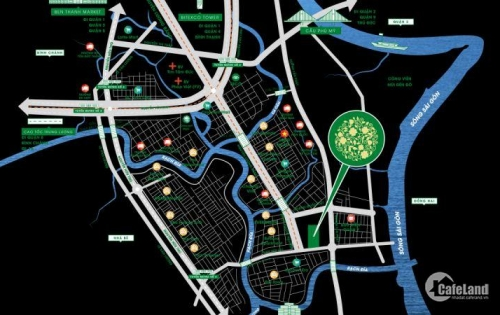 Dự án Green Star Sky Garden Quận 7 ! Thủy Mộc Sinh Vượng Khí là nơi sống lý tưởng .
