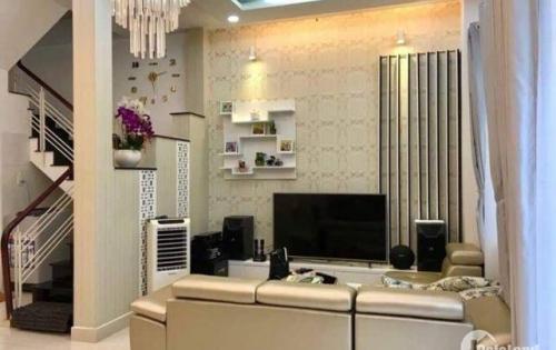 Bán nhà hẻm 719 đường Huỳnh Tấn Phát, Quận 7, Tp.HCM DT 6m x 8m, trệt 2 lầu giá 4.55 tỷ