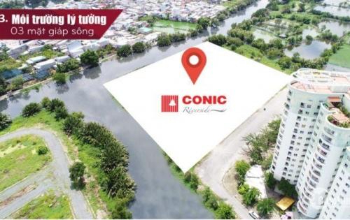 5 yếu tố sở hữu căn hộ Conic Riverside Quận 8,view sông,chỉ 22 tr/ m2