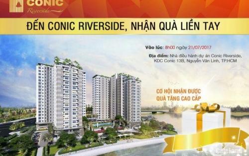 CĂN HỘ CONIC RIVERSIDE QUẬN 8 VIEW SÔNG