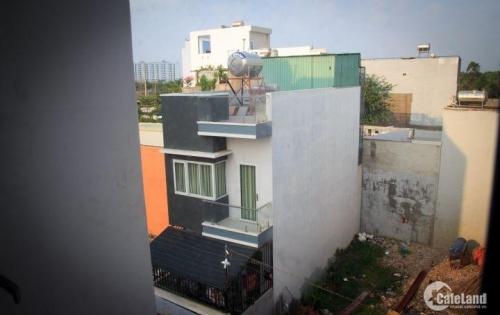 56m2 thổ cư, nhà 1 trệt 1 lầu, diện tích sàn 88m2, đổ 2 tấm, có 1 tum bên trên, sân thượng..