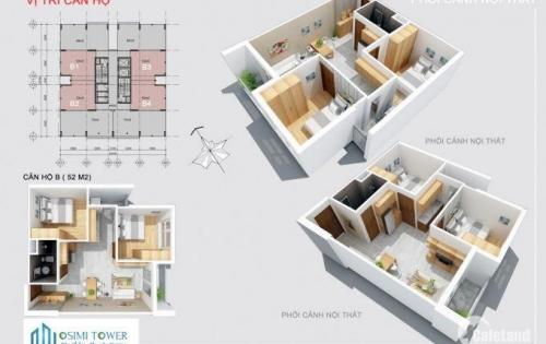 Cần bán gấp căn hộ Gò Vấp 53m2, 2PN, giá 1,3 tỷ, thanh toán theo tiến độ
