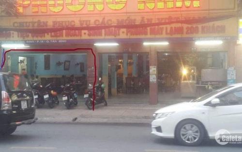 Bán nhà mặt tiền vtri đắc địa, sầm uất Trương Công Định Tân Bình