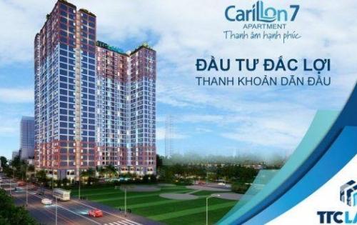 Cơ hội cuối cùng sở hữu căn hộ Carillon 7, nhận ngay chiết khấu 5%+ 2 năm phí quản lý