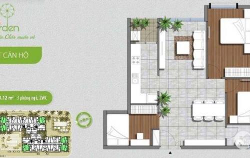Chính chủ cần bán nhanh căn hộ 3PN An Gia Garden Tân Kỳ Tân Quý hướng ĐN, full nội thất cao cấp  0915894345