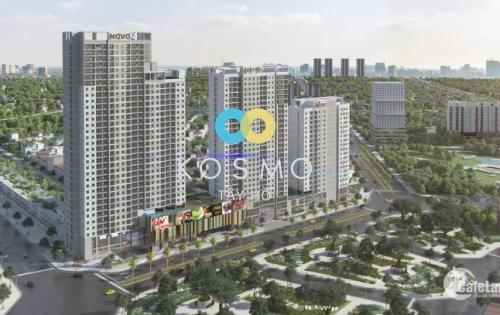 Sốc! Chiết khấu 4% khi mua căn hộ Centro dự án Kosmo Tây Hồ, DT 84m2/2pn giá chỉ 2,3 tỷ. 0936667423