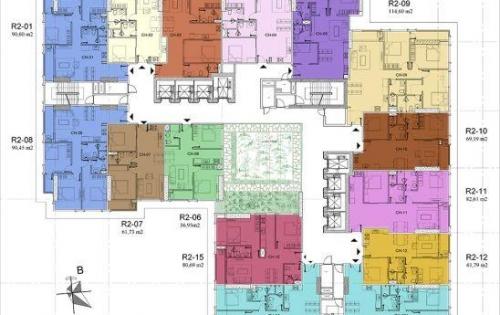 Căn góc 3PN diện tích gần 99m² view KĐT CIPUTRA và SÂN GOLF giá: 3.15 tỷ