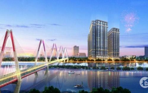 Cần bán 2N đẹp nhất tòa R2 căn hộ cạnh vườn treo view bể bơi DA Sunshine Riverside , dt 89.68m2