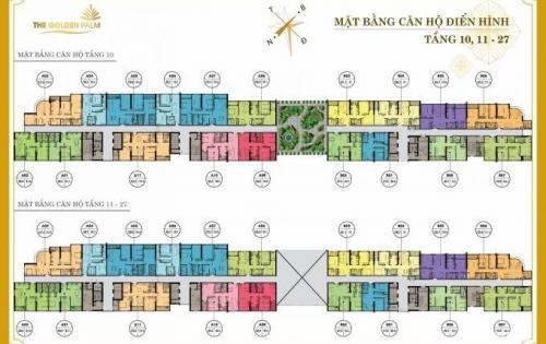 Cơ hội cuối cùng sở hữu chung cư The Golden Palm CK lên tới 548 tr, hỗ trợ vay LS 0%. 0977.696.528