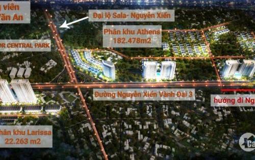 Trực tiếp chủ đầu tư bán Shophouse mặt đường Nguyễn Xiển cạnh The Manor Center Park