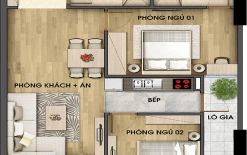 Gấp! Rẻ! chính chủ bán 2 căn tại Riveside Garden Vũ Tông Phan  1815(61.6m)+1605(84.6m) giá chỉ 25tr/m. LH 0932.326.626