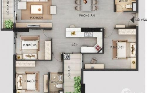 Bán căn hộ 89m2 căn góc đẹp nhất tòa 24T3 - Hapulico Complex-Lê Văn Thiêm