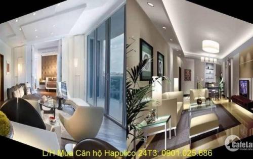 Bán căn hộ chung cư chính chủ tòa 24T3 Hapulico Complex. DT 88m2 thông thuỷ, giá: 35tr/m2