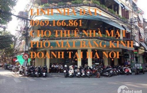 Cho thuê nhà mặt phố Hàng Bún DT 150m, 3 tầng, MT 18m, Giá 120 triệu/tháng(có thương lượng).