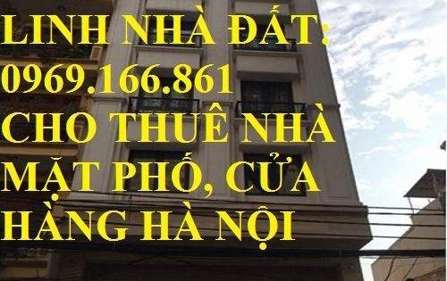 Cho thuê nhà mặt phố Linh Lang DT 100m,7 tầng, MT 5m, Giá 100 triệu/tháng ( có thương lượng).LH 0969166861
