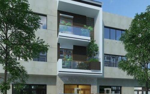 nhà 5 tầng đường Bưởi Ba Đình 50m2 mặt tiền 5m có chỗ để oto