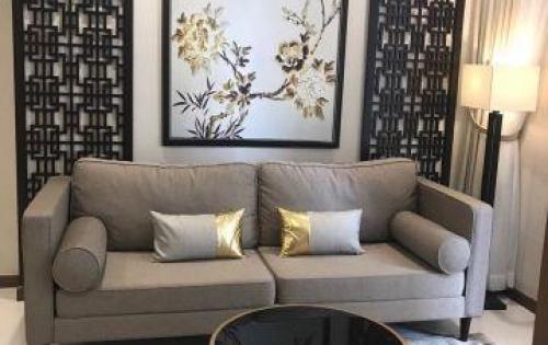 Cho thuê căn hộ Vinhomes 1 PN nội thất HIỆN ĐẠI, Tầng thấp tòa Landmark 4