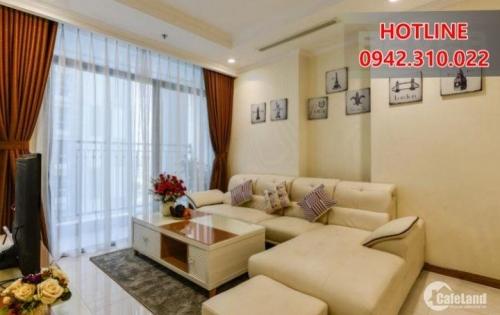 Tìm khách THIỆN CHÍ thuê 3 PN Vinhomes đầy đủ nội thất, View Cầu Sài Gòn