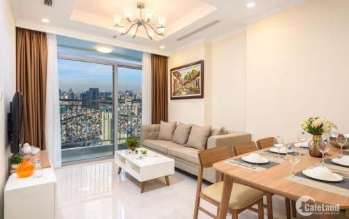 Cho thuê căn hộ Vinhomes 2PN, 82m2 tại quận Bình Thạnh, View sông Sài Gòn, giá 19,3 triệu/tháng.