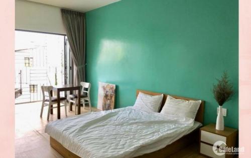 cho thuê căn hộ mini RỘNG 40M2, gỗ cao cấp, FUll nội thất BÌnh Thạnh HCM
