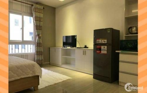 cho thuê căn hộ mini Cao Cấp, full nội thất rộng 42m2, Bình Thạnh HCM