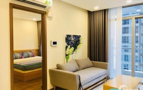 Cho thuê NHANH 1 PN Vinhomes đầy đủ nội thất,  17.5 triệu/ tháng, View thoáng.