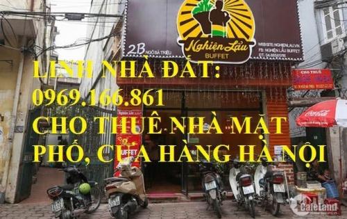 Cho thuê nhà mặt phố Trần Duy Hưng:  + Thông số DT 45m, 5 tầng, Mt 3.2m, Giá 55 triệu/tháng. LH: 0969166861