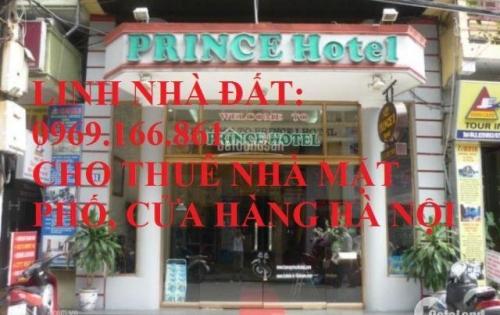 Cho thuê nhà mặt phố Trần Duy Hưng DT 125m, 2 tầng, MT 5m, Giá 6000 USD/tháng. LH 0969166861