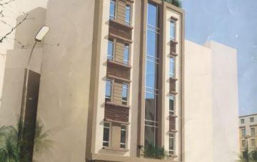 Cho thuê nhà 3 tầng mặt đường võ chí công, 100 m2, mặt tiền 8.5m có thang máy lh: 0981895085