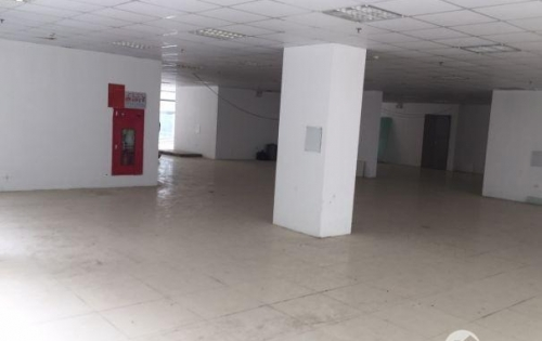 sàn  văn phòng tầng 2 Nghĩa Đô Cầu Giấy 120m2 mặt tiền 6m có ĐH