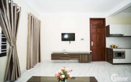 nhà mặt phố 4,5 tầng Hoàng Sâm Nghĩa Đô 40m2 6PN nội thất đầy đủ