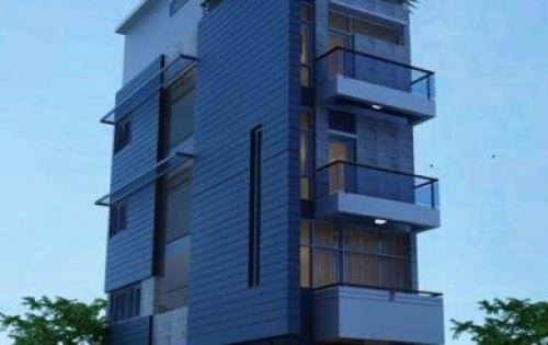 Nhà Mặt phố đường Võ Chí Công 6 tầng 35m2 có ĐH NL