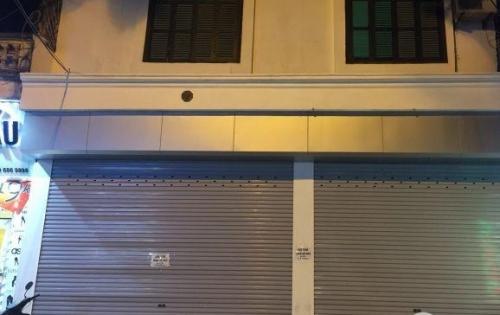 Nhà mặt đường Trúc Khê Đống Đa 50m2 mặt tiền 4m 4PN 1PK