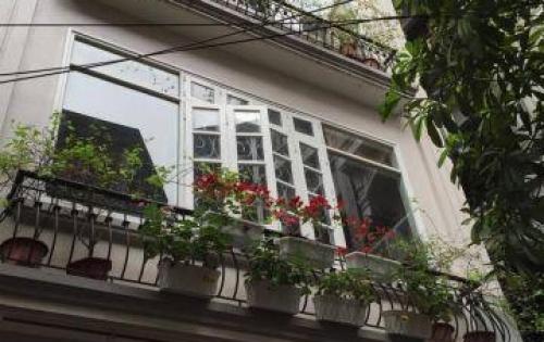 Cho thuê nhà phố Lê Thanh Nghị – HN : DT 80m2, 5tầng, mặt tiền 5m.