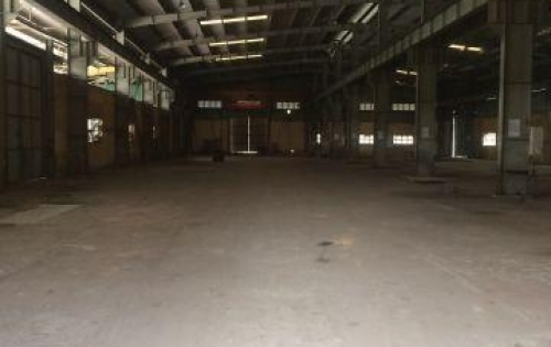 Cho thuê kho xưởng zamil diện tích 550m2 mặt đường 32 hoài Đức