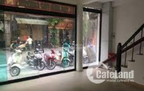 Cho thuê nhà mới + đẹp mặt phố Hàng Muối kêt hợp kinh doanh!