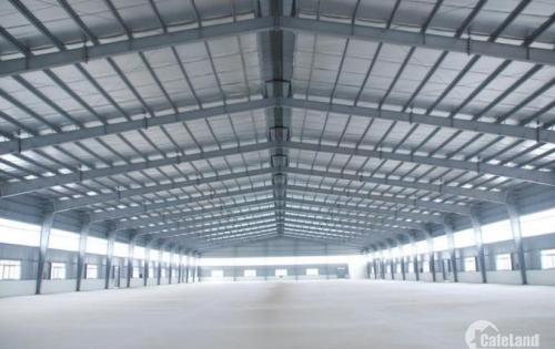 Cho thuê xưởng tại Khoái Châu Hưng Yên 4995m, 9999m mới đẹp giá rẻ, gần đường 39A