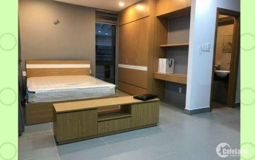 cho thuê căn hộ mini gỗ Cao Cấp, full nội thất 39m2, Q1 HCM gần Bình thạnh