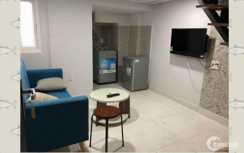 cho thuê căn hộ mini dịch vụ Cao Cấp, full nội thất giá mềm Q4, gần Q1,Q4,Q7 HCM
