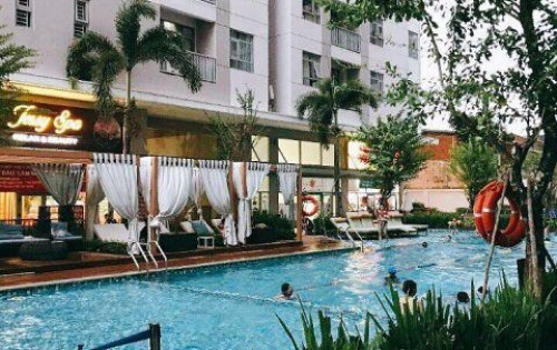 Cho thuê CH Luxcity Full nội thất đẹp ,giá chỉ 12tr/tháng ,2PN .LH Trân 0909802822 xem nhà .