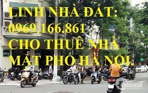 Cho thuê nhà mặt phố Ngụy Như Kon Tum DT 120m, 1 tầng, MT 14m, Giá 65 triệu/tháng. LH: 0969166861