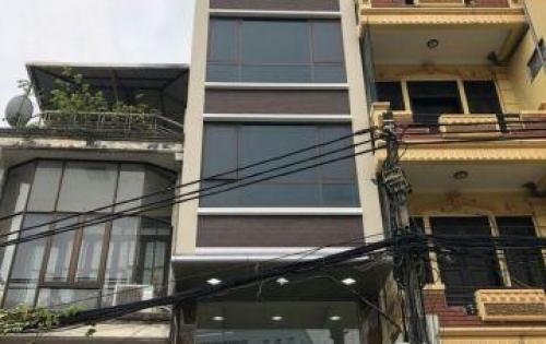 Còn trống 1 sàn 30m duy nhất trong tòa nhà văn phòng mặt phố Hoàng Văn Thái, giá ưu đãi 7t