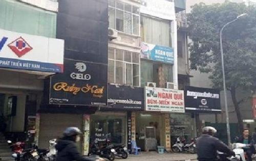 Cho thuê nhà mặt phố Nguyễn Viết Xuân 70m x 6 tầng. 50tr/tháng