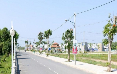 Bán gấp lô đất ngay ngã 4 Trừ Văn Thố,Bàu Bàng vị trí nằm ngay mặt tiền chợ,trường học,viễn thông LH:0976.105.788
