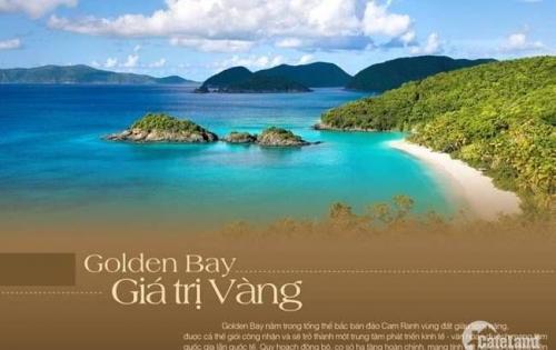 Chính Chủ cần bán lại nền Goldenbay giai đoạn 1 D16-12 view hướng ĐN giá 14tr/m2