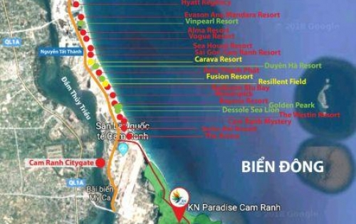 Sinh lợi cực cao khi đầu tư vào KN Para Grus ngay bãi dài Cam Ranh.PKD:0909160018