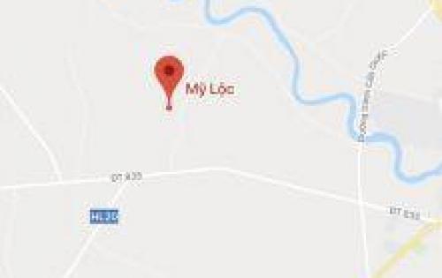 Bán lô đất đất trống đường Thanh Ba, Mỹ Lộc, Cần Giuộc, DT: 4x24.1, 720 triệu